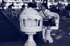 Parco Valladolid (Elisa Bertoncelli) Tags: parco sedia parole