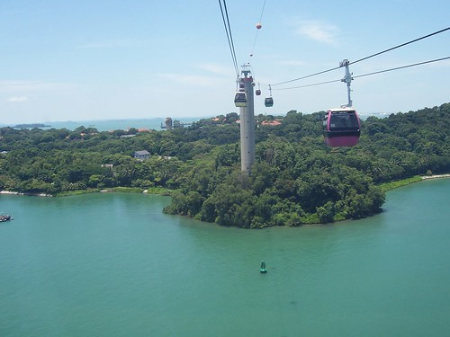 Enjoying Sentosa Island from cable car by de_ar, on Flickr
