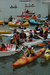 2007 All-Star Game - McCovey Cove (mdoeff) Tags: kayak mccoveycove allstargame attpark 2007allstargame