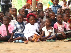 Children's section at Kabondo 2 Church