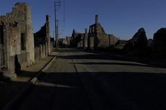Rue principale d'Oradour sur Glane, village martyr (France) (denis adam de villiers) Tags: france war guerre dday 2ndworldwar oradoursurglane vestigedeguerre