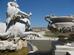 Neptune Fountain at Schoenbrunn Palace