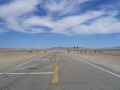 Area 51, Nevada - North entrance to Nellis Airforce Base (ashabot) Tags: blue sky mystery desert nevada alien passage secrets area51 secretplaces nellisairforcebase nevadaoutback