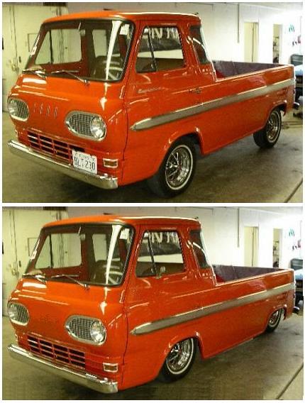 ford truck mercury pickup van custom econo kustom econoline