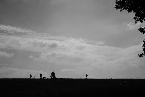 People on Hampstead Heath