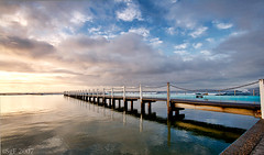 Blues and Poles (sachman75) Tags: beach water pool sunrise rocks sydney australia 1022mm narrabeen hightide northernbeaches themoulinrouge northnarrabeen interestingness47 i500 400d auselite naturewatcher