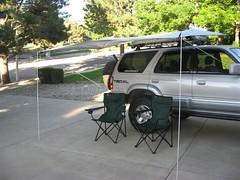 ShadyBoy awning installed on a 98 Toyota 4Runner.