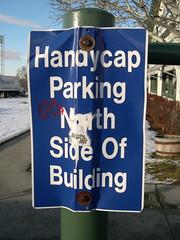 Handycap Parking