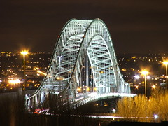 the bridge (jon9600) Tags: longexposure bridge silver fuji runcorn widnes goldstaraward copyrightedallrightsreserved~pleasedontusewithoutmypermission~