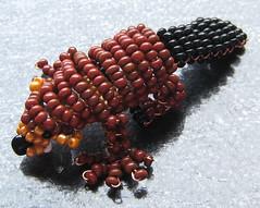 Castor. (naiarais) Tags: animal handmade castor artesania manualidades abalorios hechoamano bolitas hechopornaiara animalesdebolitas