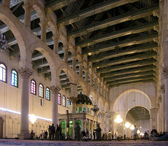 great mosque of damascus 709-15 AD, syria, easter 2004 (seier+seier) Tags: building church saint st arquitetura architecture john temple hall casa store arquitectura shrine roman basilica muslim islam prayer great edificio creative haus commons mosque east cc architektur syria baptist jupiter middle huis maison damascus gebude architettura byzantine architectuur islamic moske batiment gebouw arkitektur bouw damaskus syrien syrie bygning omayyad umayyad mellemsten seierseier