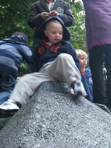 Stone slide