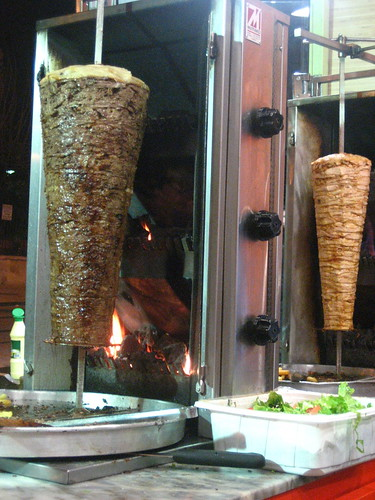 Our kebab dinner