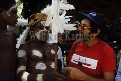 50002245 (wolfgangkaehler) Tags: man indonesia native traditional western indonesian anthropology scientist oceania melanesia anthropologist nativepeople scientificresearch irianjaya asmat traditionalmodern westnewguinea asmatregion asmattribespeople