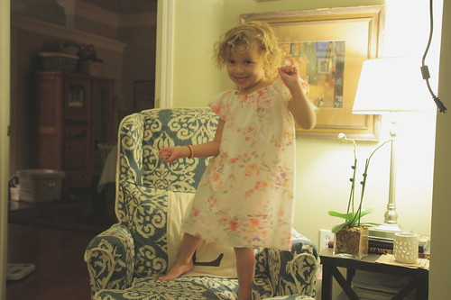 dancing in the chair