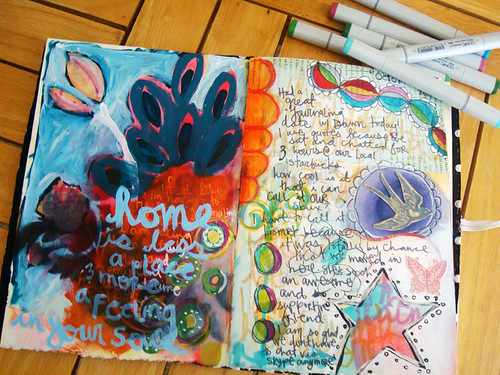 journal pages from 10-22