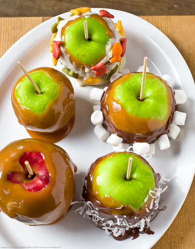 Ghirardelli Chocolate covered caramel apples