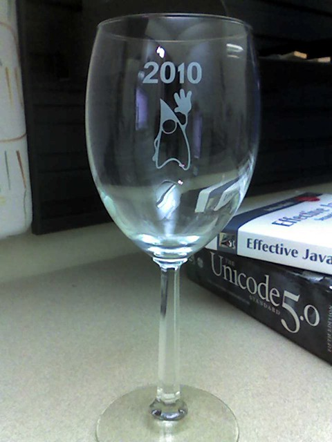 Got a wine glass