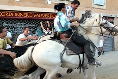 vauvert - bandido a la fete votive (salta_tempo) Tags: bull bullfight corrida toro camargue toreaux