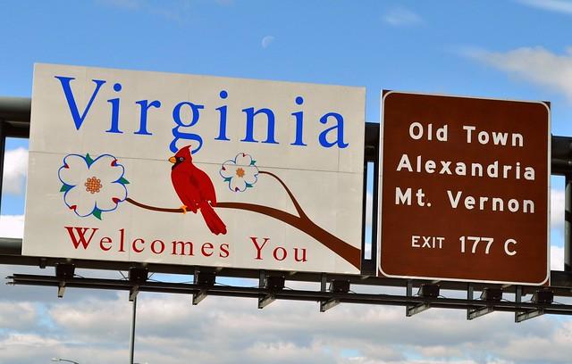 Entering Virginia