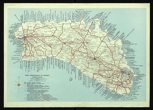 mapa arqueológico Menorca