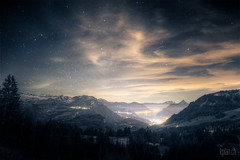 + Schwyz + Ibergeregg + (dmkdmkdmk) Tags: mountain mountains alps nature night clouds stars landscape switzerland nikon swiss alp hdr ibergeregg ibergereggschwyz