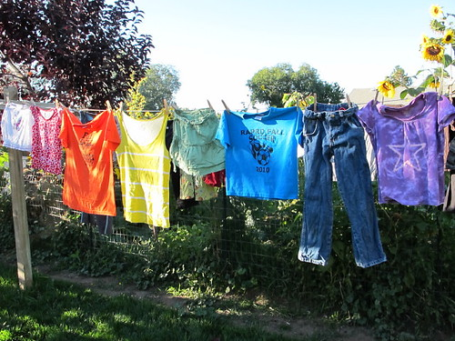 My rainbow clothesline #1