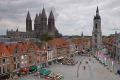 Tournai from above - by John & Mel Kots