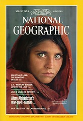 national geographic afghanistan girl photo cover june 1985
