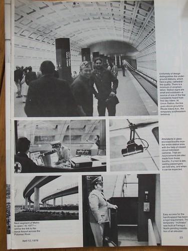 Union Station, Day 1 on the Washington Metro, Railway Age