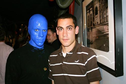 Blue Man Wannabe