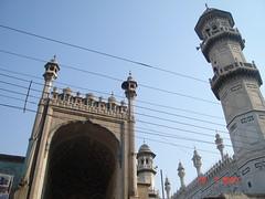 Mahabat Khan Mosque, Peshawar. (Masd) Tags: pakistan history asia 17thcentury minaret mosque peshawar nwfp masd mughalart mahabatkhan