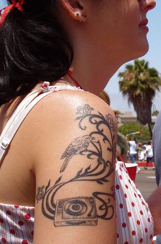Turntable tattoo