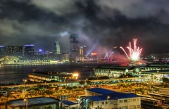 Hong Kong Fireworks in the South China Sea - by Stuck in Customs