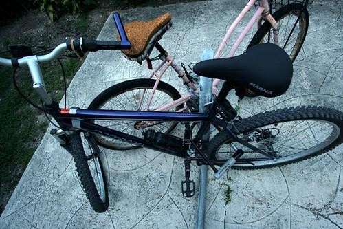 $80 bike, $34 lock