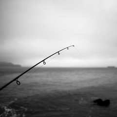 Fishing (Luis Montemayor) Tags: sanfrancisco california sea usa water square muelle mar fishing dock agua explore myfavs pescando fishingrod caadepescar
