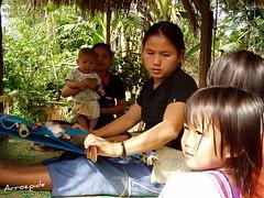 Tailandiar tribua (arrozpide) Tags: lana familia trabajo tailandia tribu indigena sendi