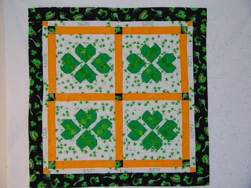Free St. Patrick's Quilt Pattern