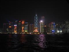 HongKong_skyLine (Amudha Irudayam) Tags: water skyline night skyscrapers hong kong amudha irudayam