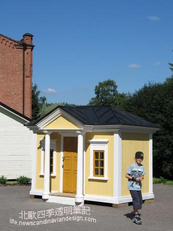 4有著芬蘭1830年代建築型式的木屋模型small copy
