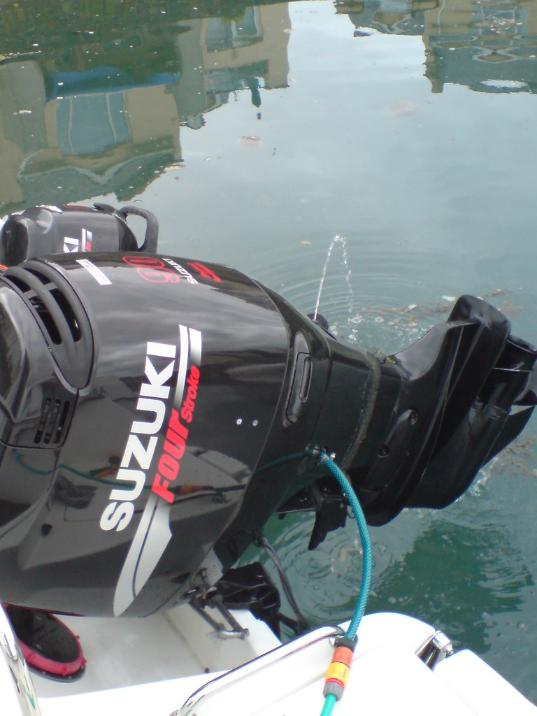 Suzuki Outboard Flush Port
