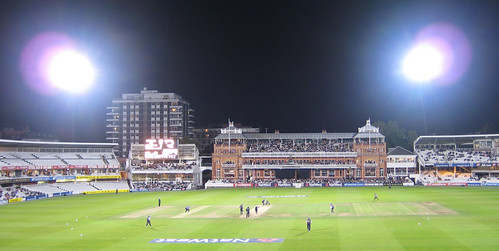 Night-time Floodlit Cricket at Lord's