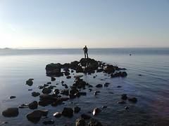 before sunset (*Sviatoslav*) Tags: winter sea silhouette spain mare stones horizon notreatment aplusphoto superhearts
