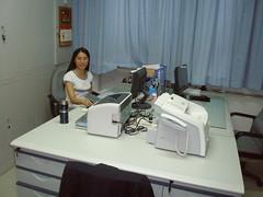 Chunxiao in her ofice