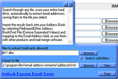 Email Address Extractor (Website Design) Tags: