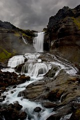 frufoss (Unnur .) Tags: nature waterfall iceland foss unnur sland watcher frufoss littlestories hlendi fjallabak anawesomeshot naturewatcher picswithsoul