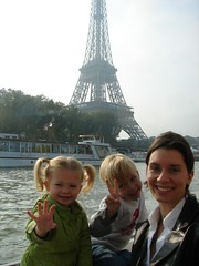 Ada, Jonas and me in Paris