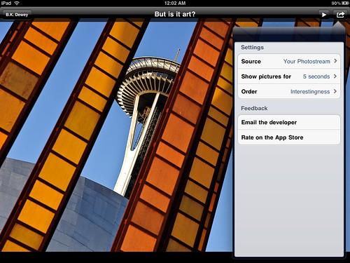 Flickr Frame 1.1 Screenshot