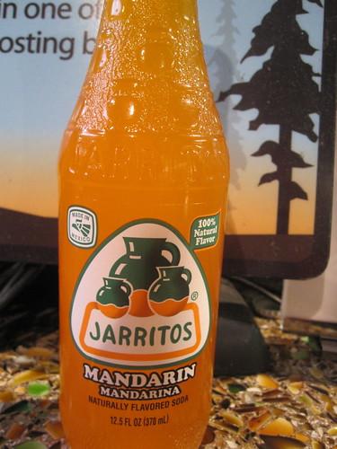 Jarritos mandarin soda at Muir Woods gift shop