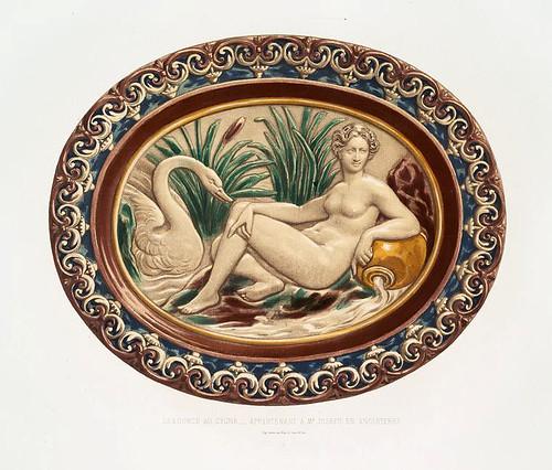 009-La fuente del cisne-perteneciente al Sr. Joseph en Inglaterra-Monographie de l'oeuvre de Bernard Palissy…1862